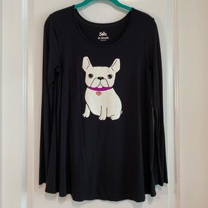Frenchie Long Sleeves Tee